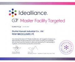 G7色彩认证12bet优惠